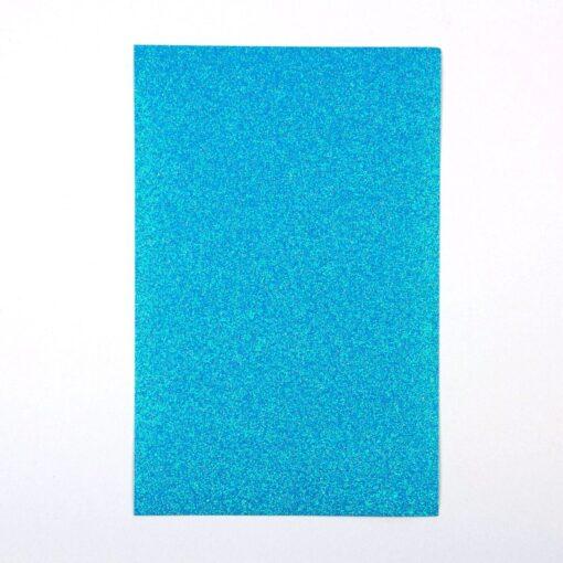 Aqua – Glitter Paper