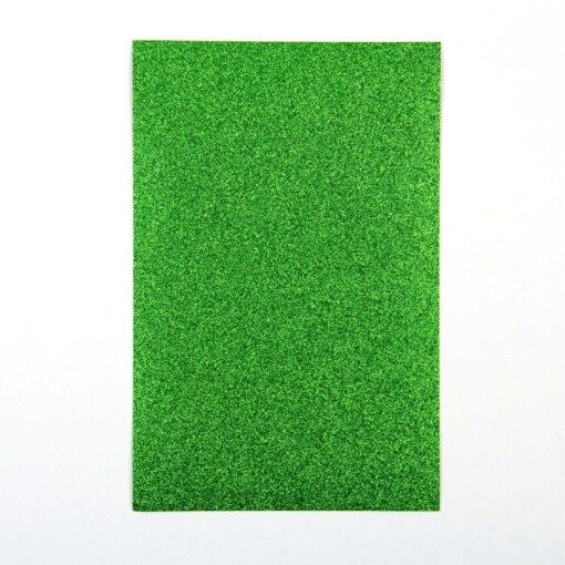 Green – Glitter Paper