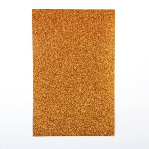 Orange – Glitter Paper