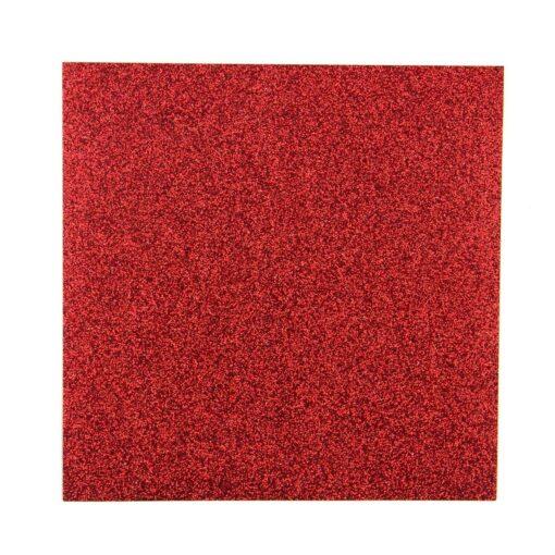 Red – Glitter Paper