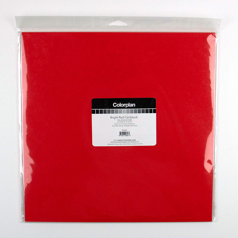 ETC 12×12 CP Bright Red